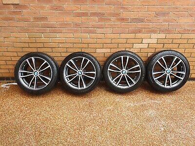 "BMW 1/2 series ALLOY WHEELS 7 .5x18"" 6879186 225/45/17 BLACK/DIAMOND CUT FINISH"