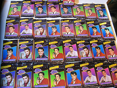 40 ELVIS PRESLEY THE CARDS OF HIS LIFE SERIES 2 TRADING CARD WAX BOX PACKS SET