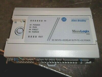 Allen Bradley Micrologix 1000 1761-l10bxb Ser F Frn 1.1 Controller Cc5