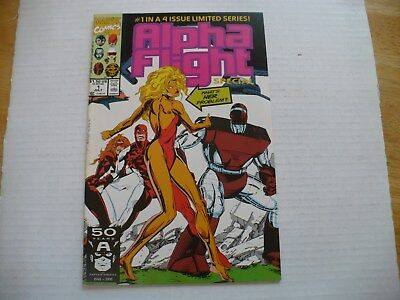 ALPHA FLIGHT # 1 (OF 4 ISSUE LIMITED SERIES) (NM- 9.2) 7/91 MARVEL-XTREME GRADE