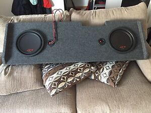 """Alpine amp and 10"""" subs"""