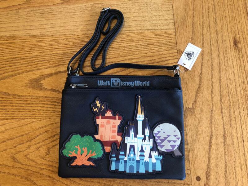 Walt Disney World Four (4) Parks Icons Minnie Crossbody Bag Purse