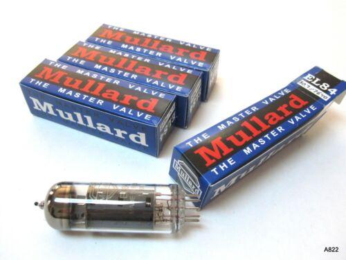 4 Mullard EL84 Tubes
