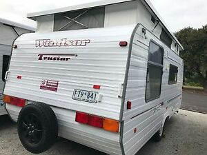 1998 Windsor Trustar Poptop - Isl Double - Rollout Awning Warragul Baw Baw Area Preview