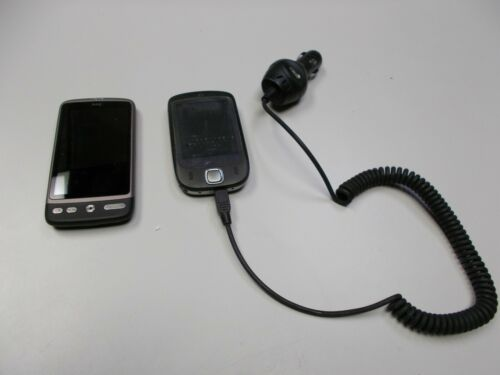 Vintage HTC Cell Phone Lot of 2   US Cellular  Unlocked Touch