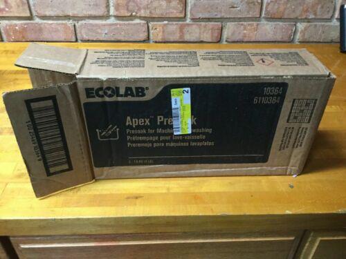 Ecolab Apex Presoak 6110364 Solid Refills (3)4 Pound
