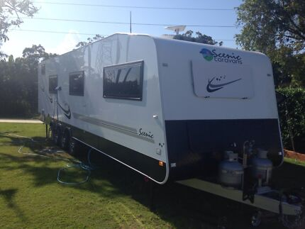Scenic deluxe not jayco Roma traveller