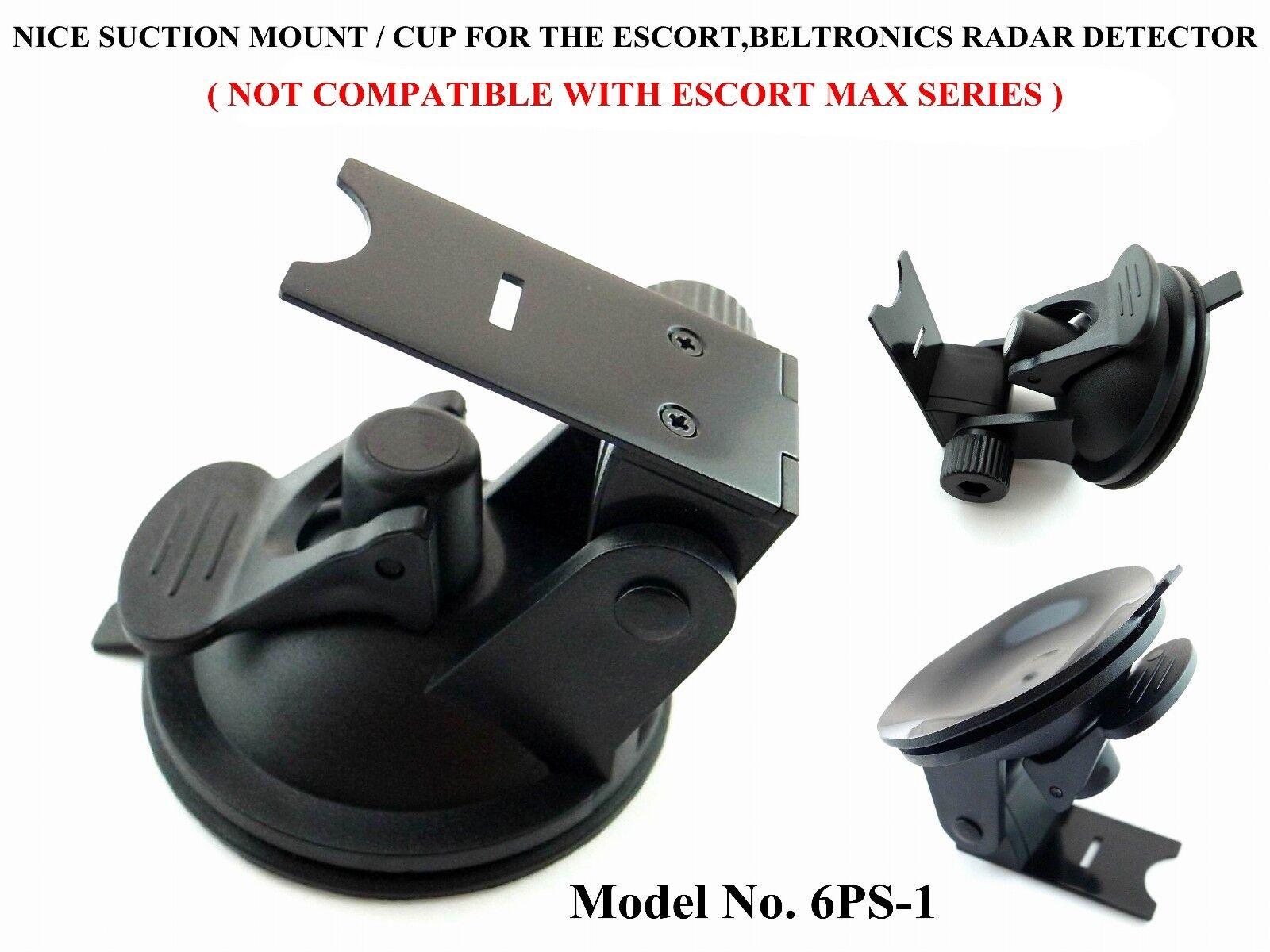 Nice Suction Cup / Mount For The Beltronics & Escort 9500 S4 X80 Radar Detectors