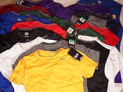 New Mens Nike Pro Core SS & Sleeveless Compression Tight Shirt Base Layer $25
