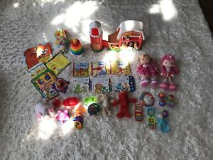 Baby/Toddler Toy and Book Lot