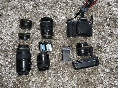 Canon EOS 5D Mark II 21.1 MP Bundle