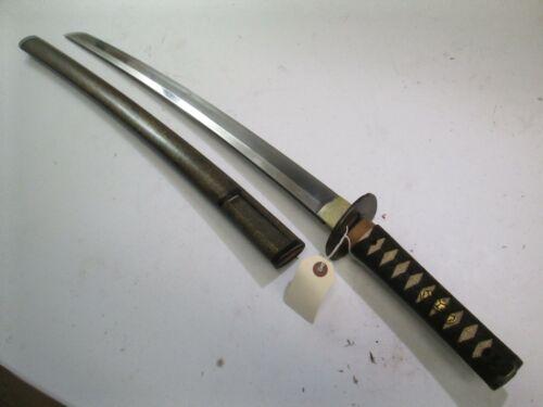 HI QUALITY JAPANESE SAMURAI wakisashi SWORD & SCABBARD MOUNTS NOBUTAKA WIDE #W26