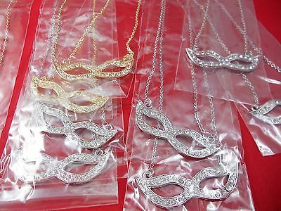 Wholesale Lots 12 Piece Necklaces mask .