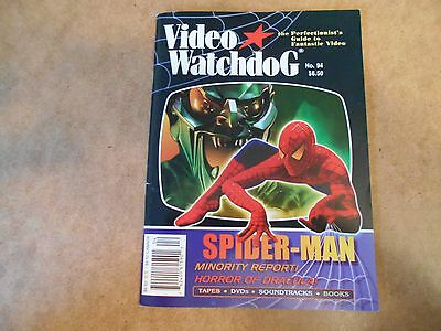 Silent Spider - VIDEO WATCHDOG #94 2003 FN/EX SPIDER-MAN MINORITY REPORT GERMAN SILENT HORROR