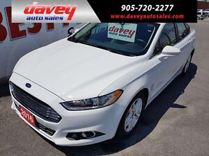 2016 Ford Fusion SE LEATHER HEATED SEATS, BLUETOOTH, BACK UP...