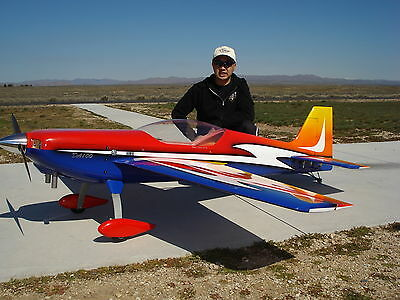 33% Krill Katana Desert Aircraft DA100 SAVOX Futaba14MZ Archetype Airplane Engine RC
