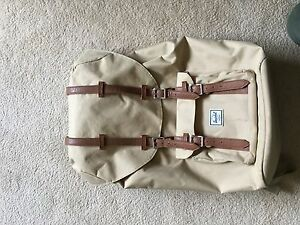 Herschel tan backpack