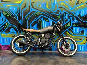 2021 Sol Invictus Motorcycle Nemesis Cafe race & Scrambler 400cc Coburg Moreland Area Preview