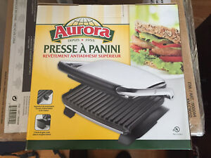 New panini press never used