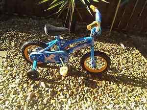 Small kids bike with training wheels Maudsland Gold Coast West Preview