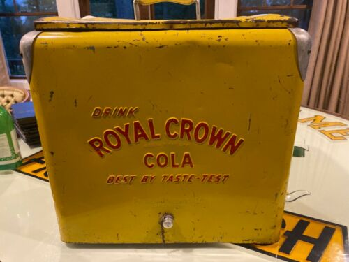 Royal Crown vintage cooler
