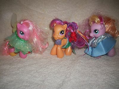 My Little Pony Princess Cake Topper Or Toy Figures