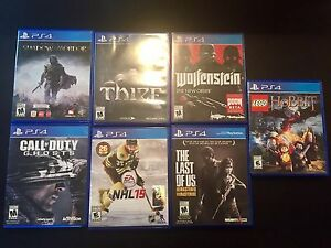 PS4 Games (individual or bundle)