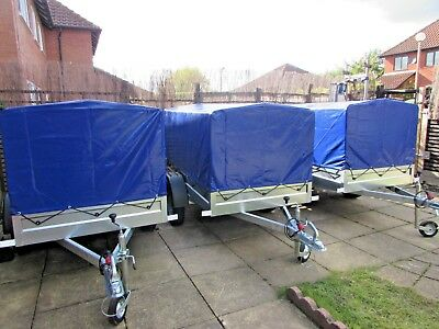 NEW Car camping box trailer 6.8ft* 3.8ft with top cover 750kg