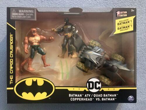 batman spinmaster copperhead vs batman the caped