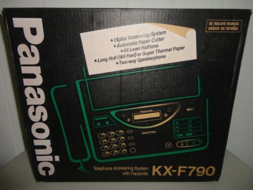 RARE Panasonic KX-F180C Fax Telephone Answering Machine Facsimile NEW