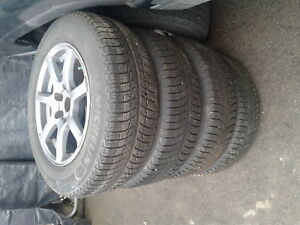 Tires snows with Fast rims for $800.00