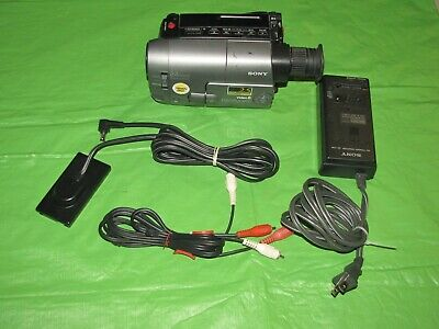 Sony Handycam CCD-TRV21 Video 8MM Camcorder - Record Transfer Watch Video8 Tapes