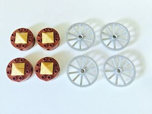 LEGO CARRIAGE WHEELS X8 (2 SETS OF 4) London Ontario image 1