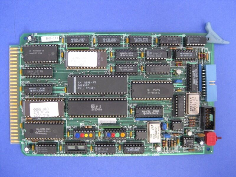 Bruce 3161351 Video Display Processor, PCB, Working When Removed