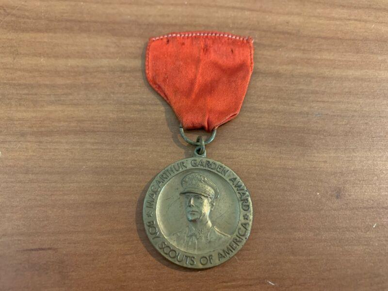BSA, MacArthur WWII Victory Garden Award Medal
