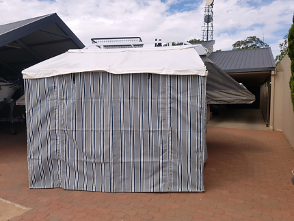 3 meter wide bag awning excellent condition and new annex