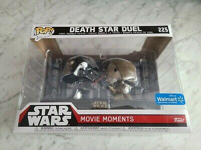 Star Wars Death Star Duel Movie Moments Funko Pop (Walmart) Kenobi + Vader #225