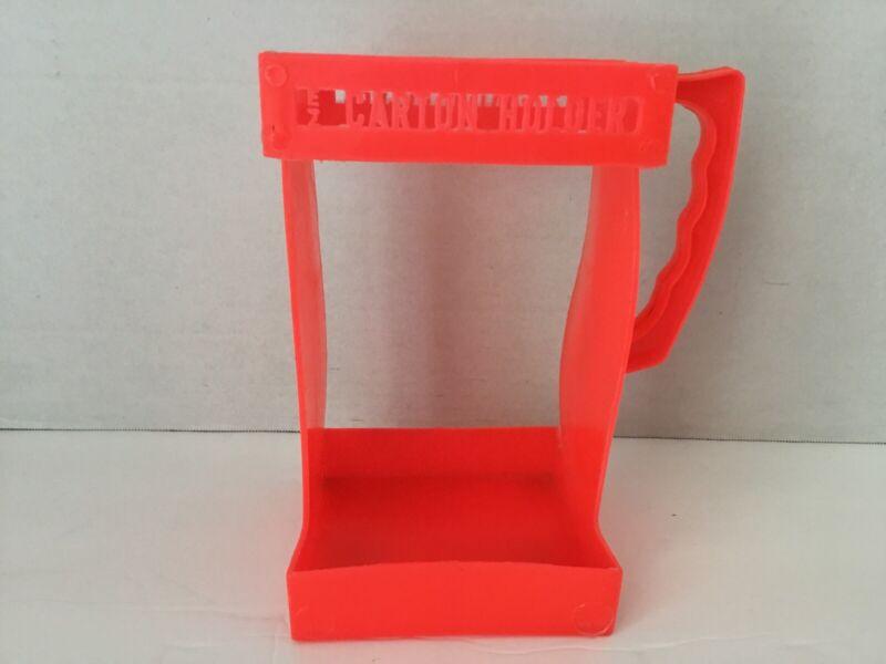 VINTAGE Plastic 1/2 Gal Carton Holder