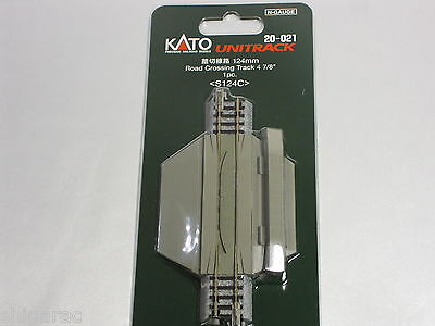 Kato n gauge Unitrack Road Crossing Track 124mm  20-021