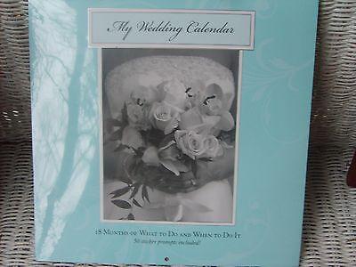 NEW Bridal Wedding Organizer Calendar 18 Month ...