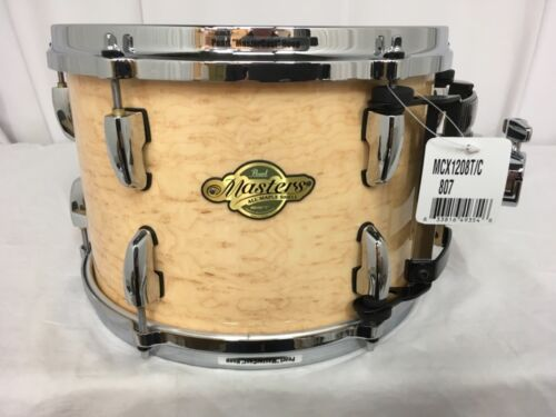 "Pearl Masters MCX 12"" Diameter X 8"" Deep Mounted Tom/NATURAL BIRDSEYE MAPLE/807"
