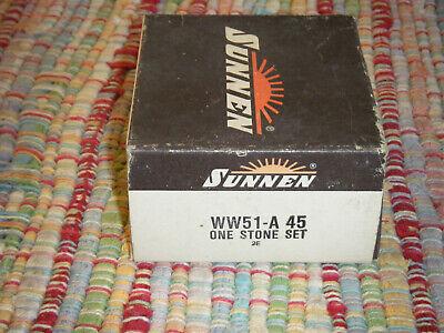 New Sunnen Stone Set Ww51 A 45 For Portable Hones 4.5 - 60 Aluminum Oxide
