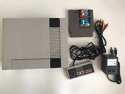 Nintendo Entertainment System Action Set Console - Gray Tested!