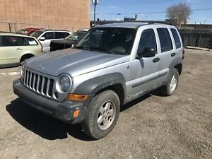2006 JEEP LIBERTY FOR PARTS 2002 2003 2004 2005 2006 2007