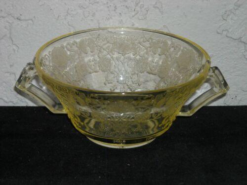 Florentine Poppy 2 Cream Soup As Is #2  Yellow
