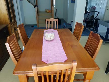 7 piece dinning table set
