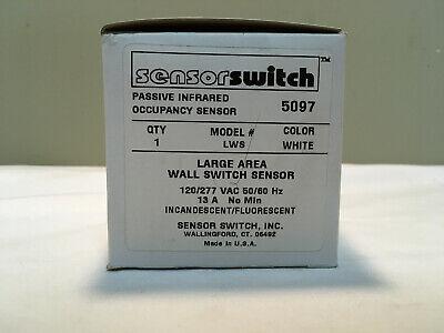 Sensor Switch Lws Passive Infrared Occupancy Sensor White Large Area Wall Sensor