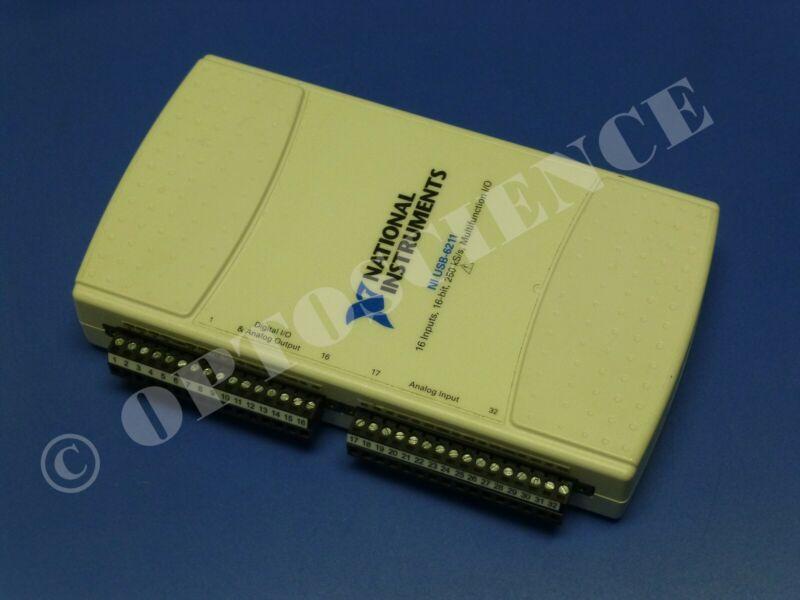 National Instruments USB-6211 Data Acquisition Device, NI DAQ, Multifunction