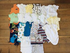 Baby Boy Size 00 Clothes (Mainly Summer) Everton Park Brisbane North West Preview