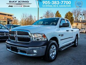 2015 Ram 1500 TRAILER TOW, V8, TINTED, FRONT SEAT SIDE AIRBAGS